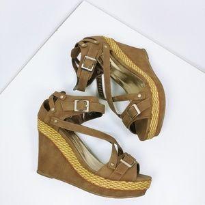 Bucco Wedge sandals sz 7